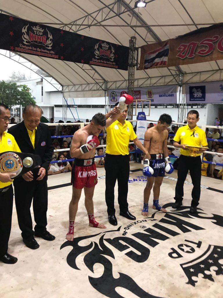 Vencedor a los puntos en el evento WPMF en Bangkok