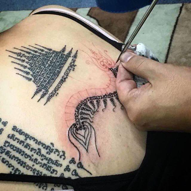 Tatuajes habituales en la espalda
