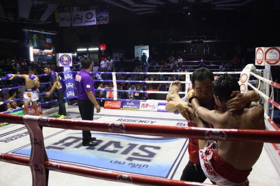 Rangsit desde el ring