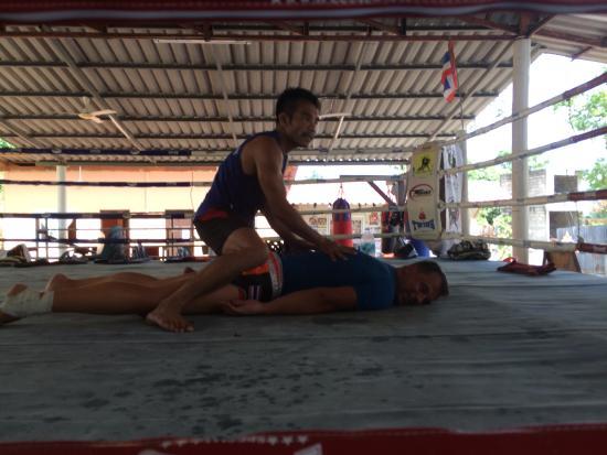 descanso tras entrenar