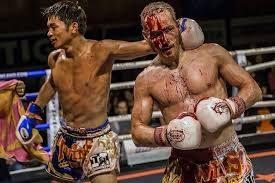 entrenar y pelear duro