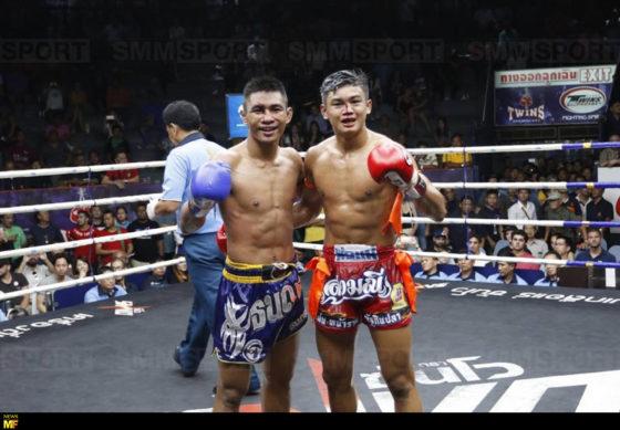 Sangmanee y Tanonchai categoría de peso 130 libras