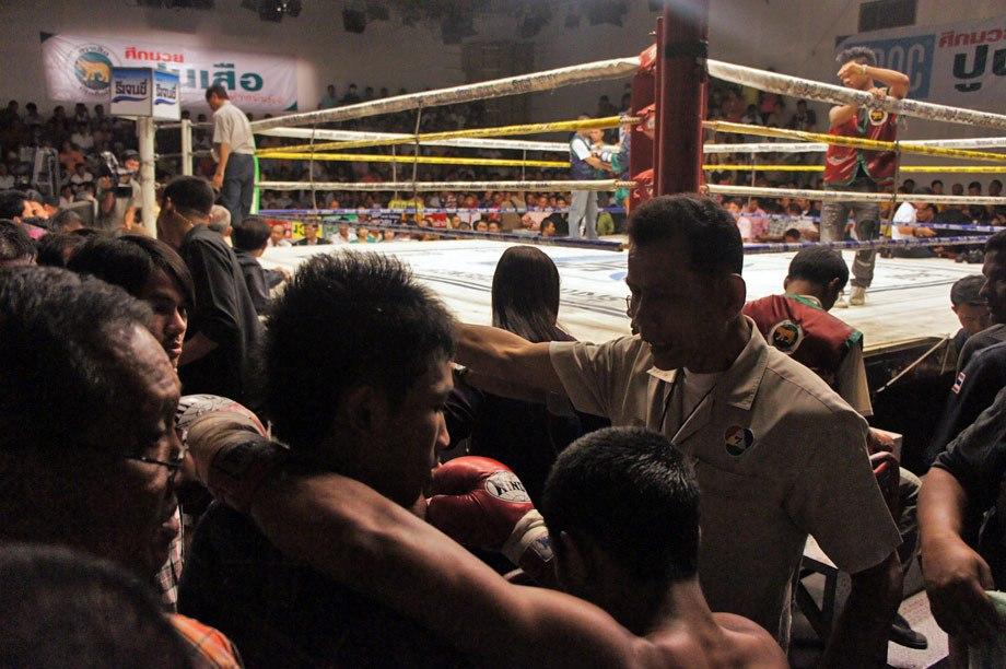 Estadio canal 7 en un viaje a Tailandia