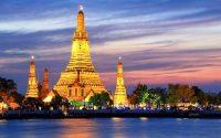 Estupa en Tailandia de viaje
