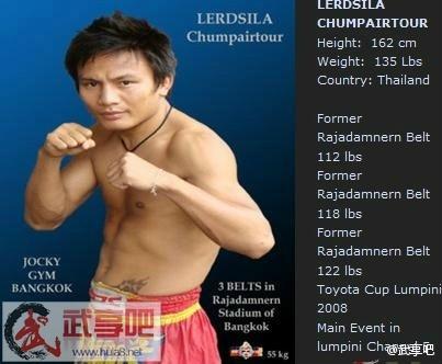 Luchador Lerdsila del Jocky Gym