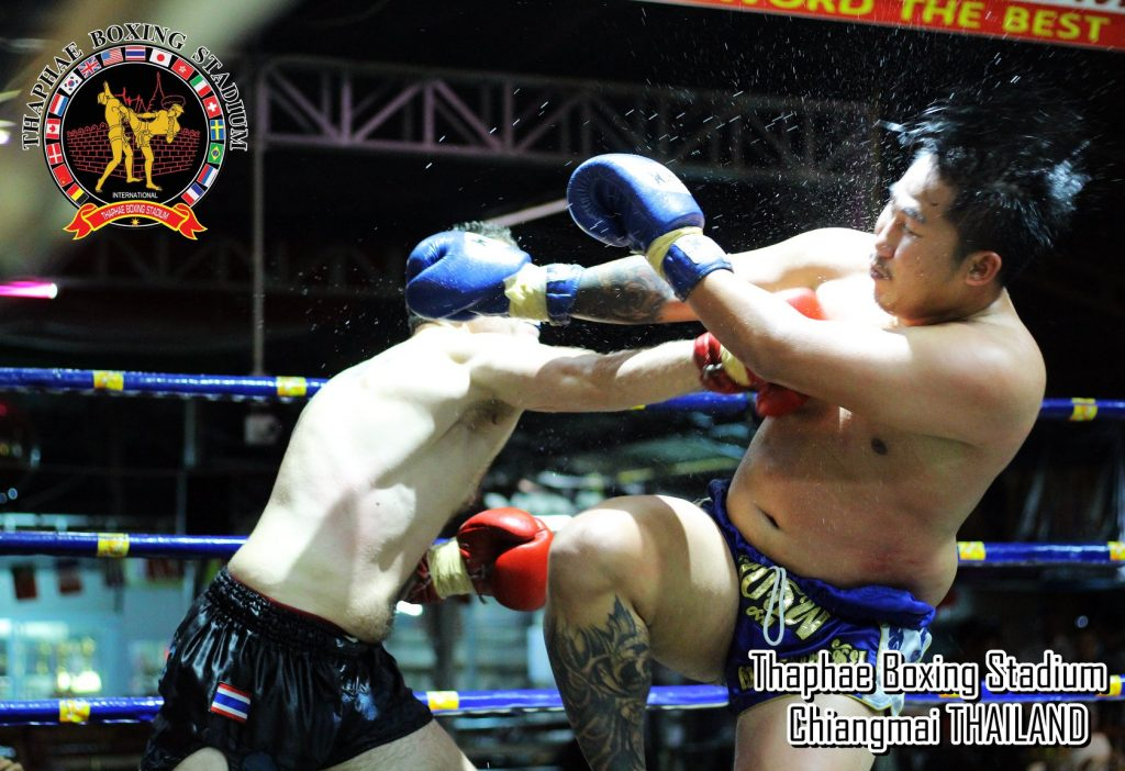 luchador en Tailandia