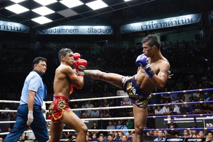 Superlek estrella del Muay Thai