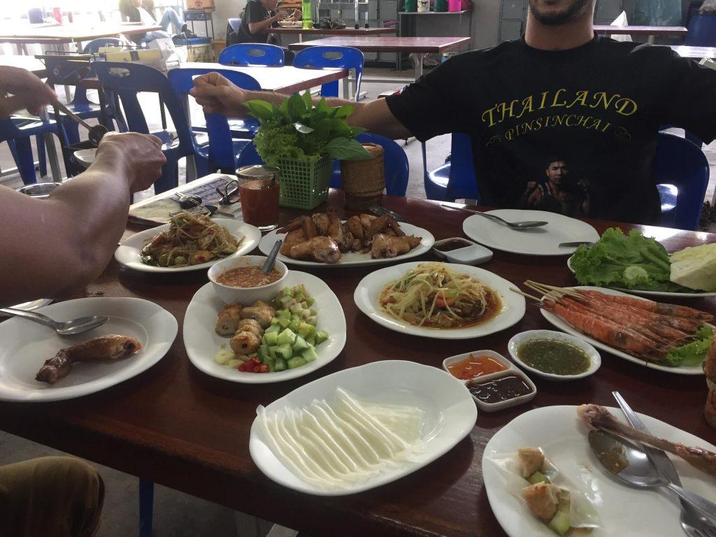 Comida Thai en la rcuperación tras el pesaje