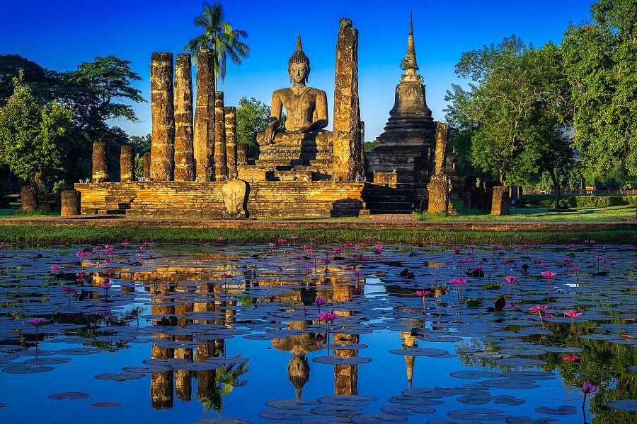 Sukhothai, la preciosa ciudad que en su día fue capital del Reino